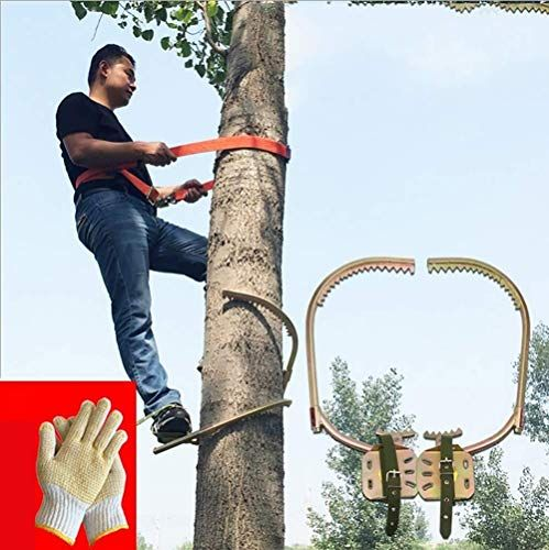 New Yfjl Non Slip Climbing Trees Foot Buckle Wooden Pole Foot Buckle Thicken Foot Buckle Climbing Tre Tree Climbing Equipment Climbing Tree Stands Wooden Poles