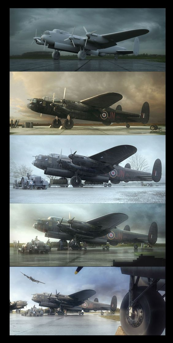 A Terrifying Beauty – the Art of Piotr Forkasiewicz > Vintage Wings of Canada: