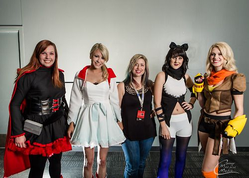 RWBY Vocie actors dress as their characters OMG it looks amazing!!!