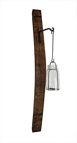 Wine Barrel Stave Sconce with Hook (Dark Walnut) O'Floinn Decor http://www.amazon.com/dp/B00RONP73Q/ref=cm_sw_r_pi_dp_UxQVub132Q5QY