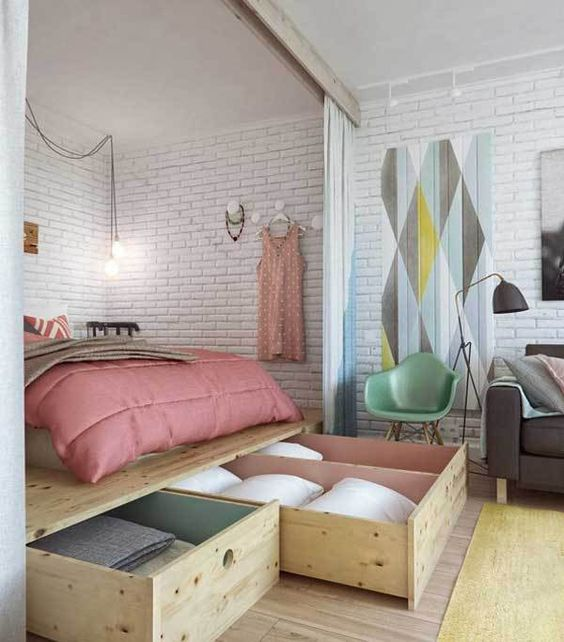 17 wonderful diy platform beds apartment therapy raising and therapy