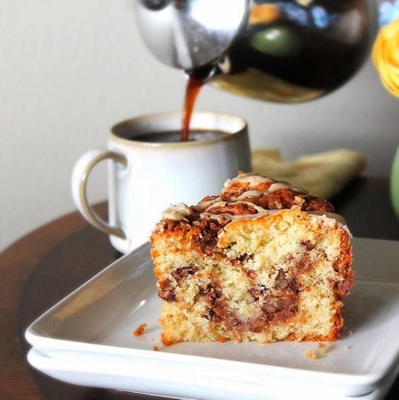 Cinnamon Maple Coffee Cake | sweet recipes | Pinterest | Coffee ...