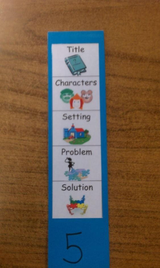 The Primary Treehouse: Retell Bookmarks