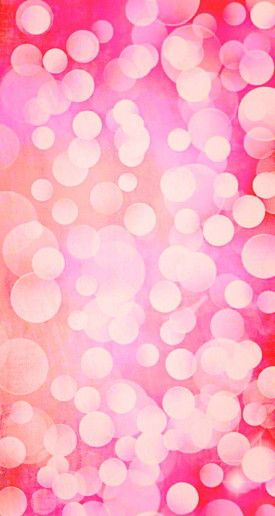 Pink Bubbles Iphone Wallpaper