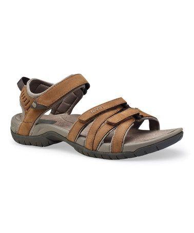 Look at this #zulilyfind! Rust Tirra Sandal - Women by Teva #zulilyfinds