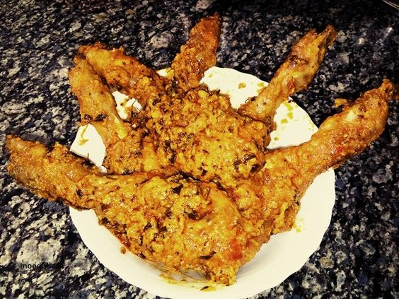 Chatpata tangri chicken
