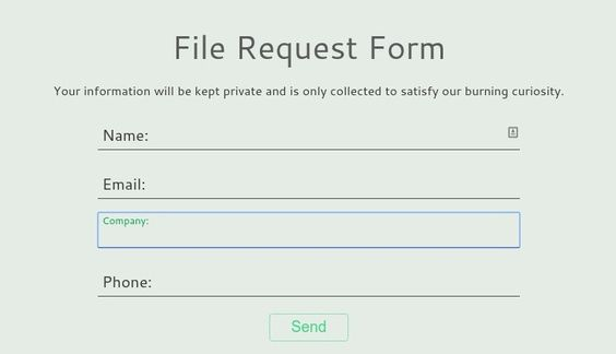 flowupLabelsjs   Augments form labels to behave like placeholders - material request form
