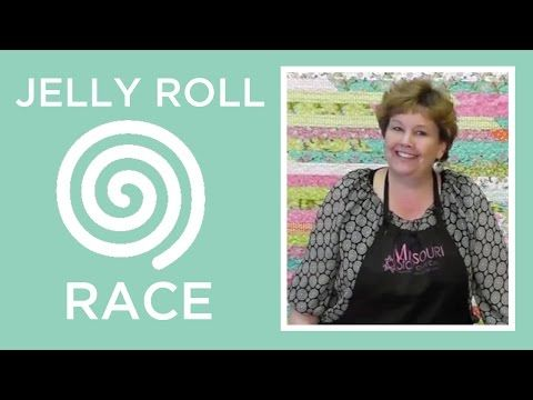 Jelly Roll Race A Quilt Top In Less Than An Hour