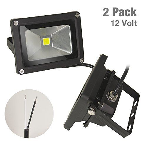 Etoplighting 2 Pack Outdoor Indoor 10w 12v Led Flood Light Daylight White 5500k Waterproof Ip65 Wall Mountable Aluminum Body Apl1501 For Sale Led Flood Flood Lights 12v Led