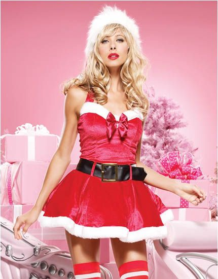 Holiday Spirit Xmas sexy lingerie woman fashion