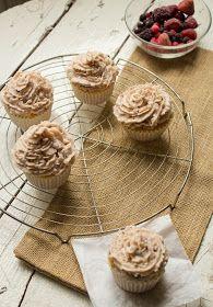 trossets de cuina : Berry mascarpone cupcakes