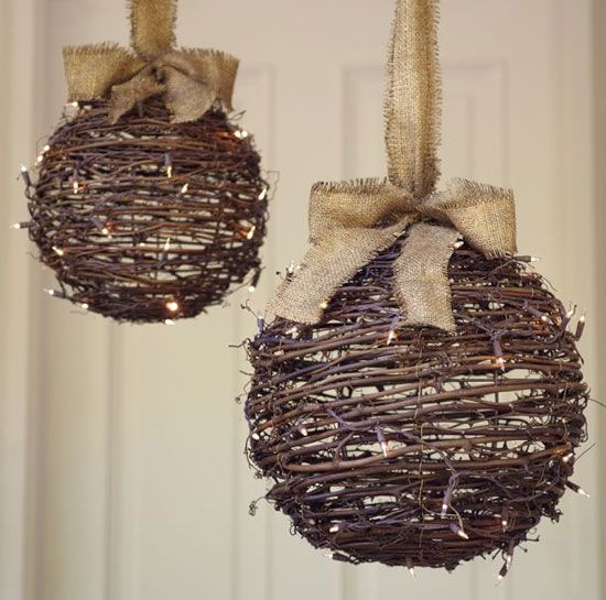22 DIY Christmas Outdoor Decorations Ideas that Will Make