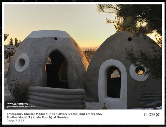 By Architect Nader Khalili Emergency Housing For People Who Dont Have Building Supplies
