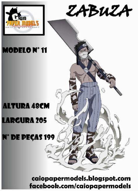 Caio Papermodels: Zabuza - Download
