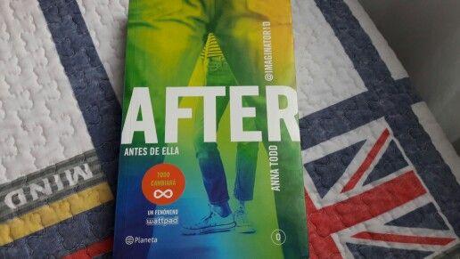 """""""After 0: Antes de ella"""" escrito por Anna Todd.:"""