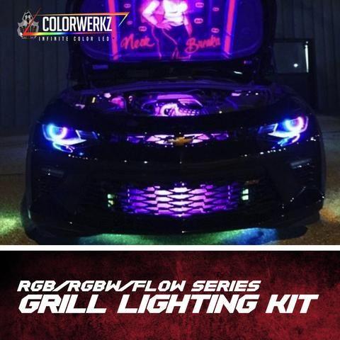 Grill Lighting Led Strips Kit Rgb Rgbw Flow Series In 2020 Rgb Led Strip Lights Led Led Light Kits