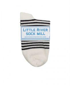 Little River Sock Mill Stripe Anklet