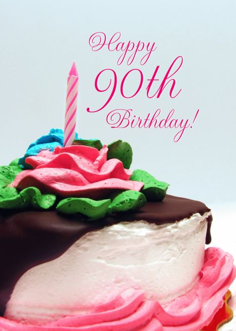Pleasant 90Th Birthday Cake Card Ad Sponsored Birthday Card Cake Birthday Cards Printable Nowaargucafe Filternl