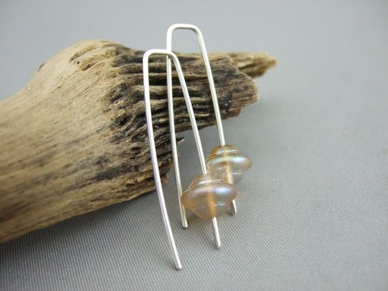WallE Gold UFO Earrings