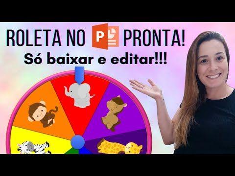 Roleta No Powerpoint Pronta E So Baixar E Editar Youtube Em 2021 Roleta Alfabetizacao E Letramento Atividades Alfabetizacao E Letramento