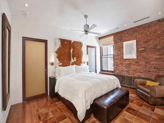 Wood and Vintage Brick Walls Add Chic to Modern Loft Conversion Design in SoHo...pic6of6