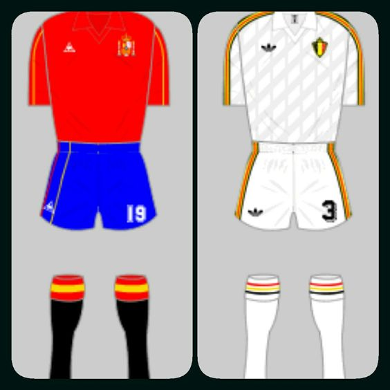 Spain 1 Belgium 1 (4-5 p) in 1986 in Puebla. Spain couldn't carry their form over from the last game against a well organised Belgium. Spain lost on penalties in the World Cup Quarter Final.