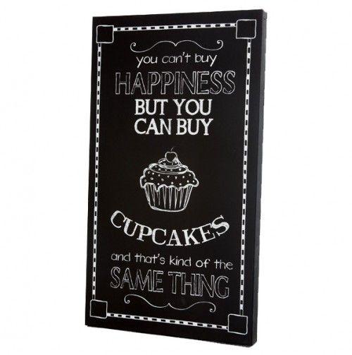 Cupcakes Chalkboard Panel
