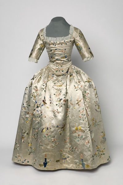 Girls Dress  Place of origin: China (weaving)  England, Great Britain (hand sewing)  Date: ca. 1760 (made)