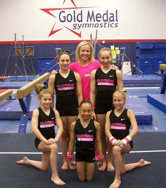 Amanda Borden is the owner and a coach at Gold Medal Gym ...
