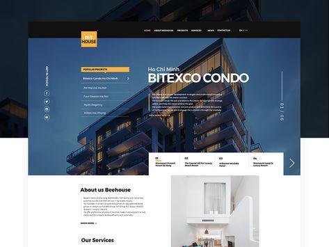 Beehouse Real Estate Web Design Real Estate Web Design Web Design Real Estates Design
