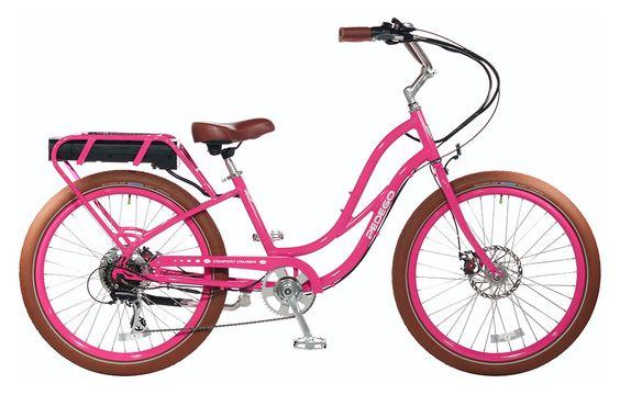 26 Step Thru City Commuter Electric Bike Electric Bicycle Cruiser Bike