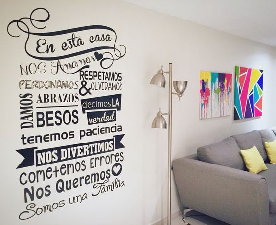 Vinil decorativo / texto