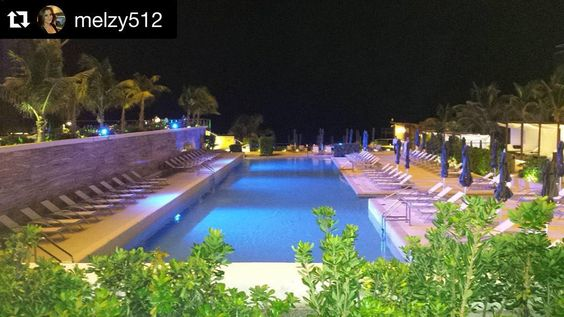 #UnlimitedVacationClub  repost from @melzy512 at #SecretsTheVine  One of the pools at night #mexico #cancun #vacation