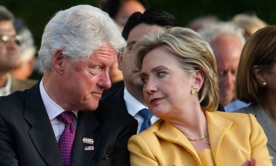 """It never occurred to our nation's founders that we could end up with two presidents in the White House who are married to each other, but that is the possibility we now face. A close friend of the Clintons has said for years that when they both """"are dead and gone, each of them will be buried next"""