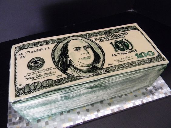 dollar bill cake - photo #31