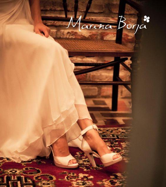 Calçado Marina Borja - noiva