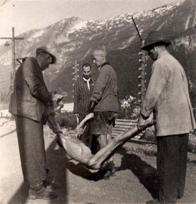 Holocaust/WWII: Mauthausen, Austria, May 1945, Scenes From
