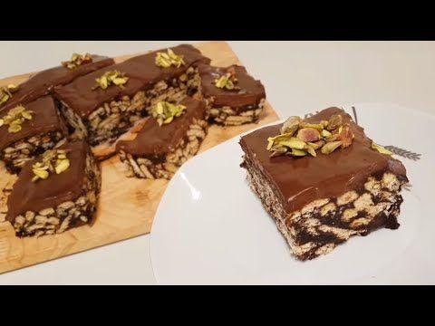 حلى بارد ومكوناتها في كل بيت كيكة البسكويت بالشوكولا بسيطة لذيذة وإقتصادية Youtube Food Cake Desserts