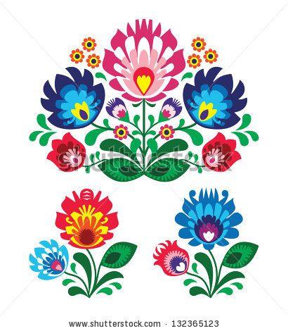 mexican flower motifs - Google Search
