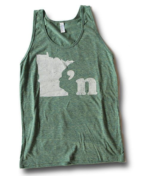 Minnesotan Unisex Tank - MPLS / STP Clothing Co.