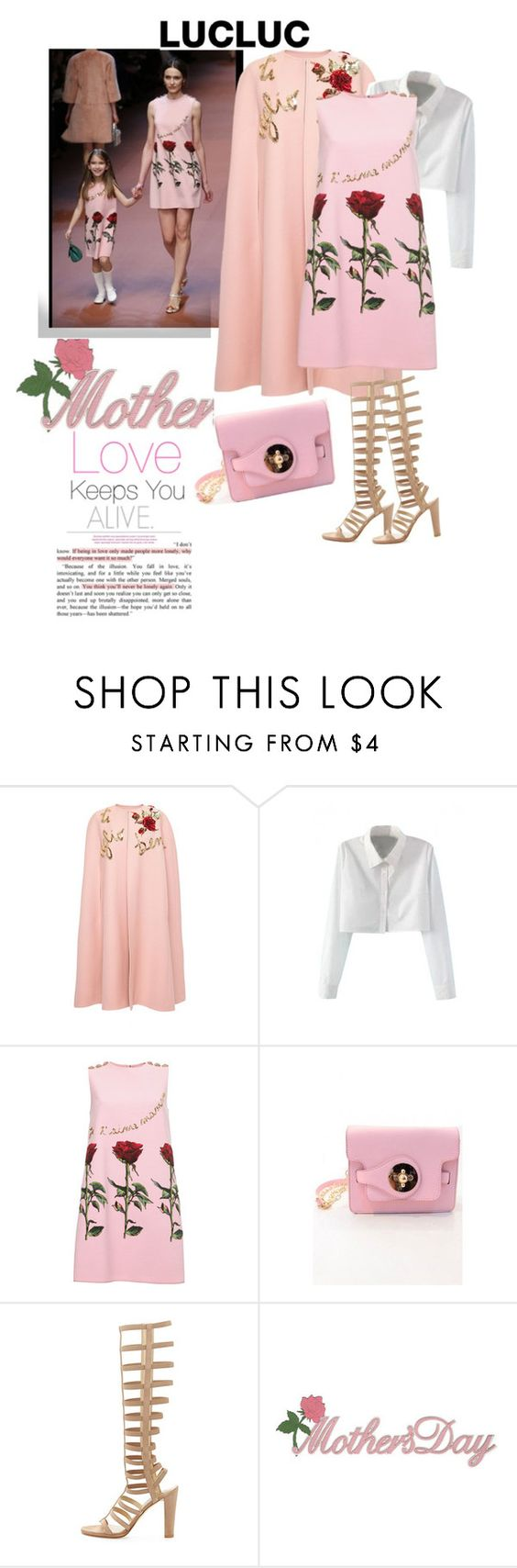 """""""Lucluc 22/2"""" by ade1-ccvii ❤ liked on Polyvore featuring Dolce&Gabbana, Stuart Weitzman and lucluc"""