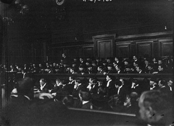 Procès de la bande à Bonnot aux assises de la Seine à Paris, du 3 au 27 février 1913