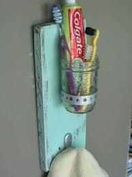 Image result for diy toothbrush holder wall mount