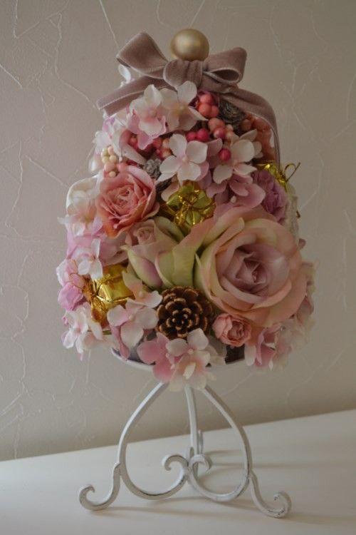 シルクフラワーです。お花の部分は23.5cm|ハンドメイド、手作り、手仕事品の通販・販売・購入ならCreema。