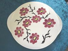 Tortenplatte Dom Keramik Limburg Torte Platt Blumen