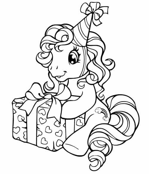 My Little Pony Dvd A Gagner Coloriages My Little Pony Coloring My Little Pony Birthday Unicorn Coloring Pages