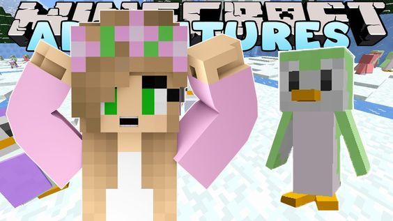 Little Kelly Minecraft - MORPH PENGUIN HIDE & SEEK W/ Little Carly & The MineVengers | LittleKellyGaming Little Kelly Minecraft - MORPH PENGUIN HIDE & SEEK W...