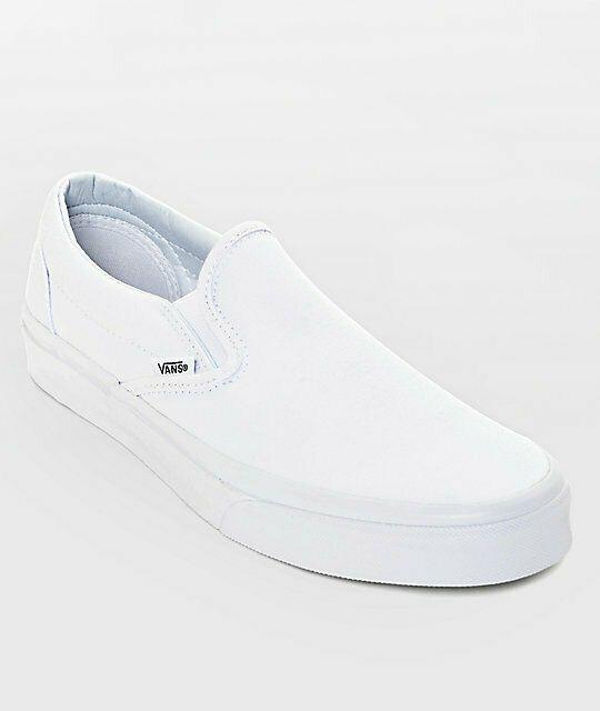 Vans Womens Size 8 Classic Slip On True