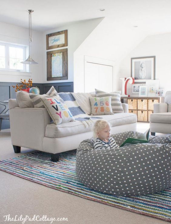 Playroom Decor Playrooms And Bean Bags On Pinterest