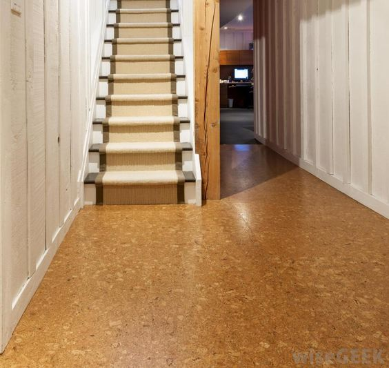 Environmentally Friendly Flooring cork is comfortable, durable, #stylish and highly #functional. it